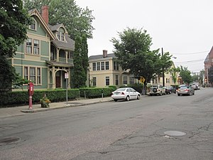 Bow Street Historic District - Image: Bow Street