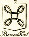 Bowen knot in a book from 1827[4]