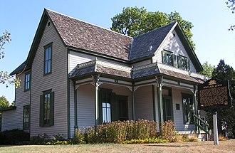 Sinclair Lewis - The writer's boyhood home at 812 Sinclair Lewis Avenue, Sauk Centre, Minnesota, is now a museum