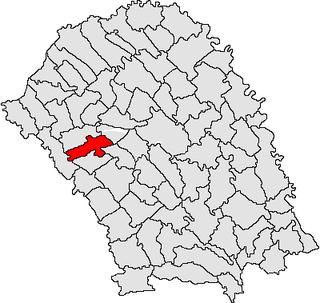 Brăești, Botoșani Commune in Botoșani, Romania