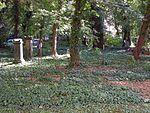 Cemetery of the cross monastery