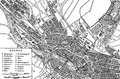 Bremen, situationsplan, Nordisk familjebok.png