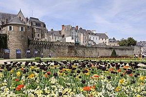 Vannes - City walls of Vannes