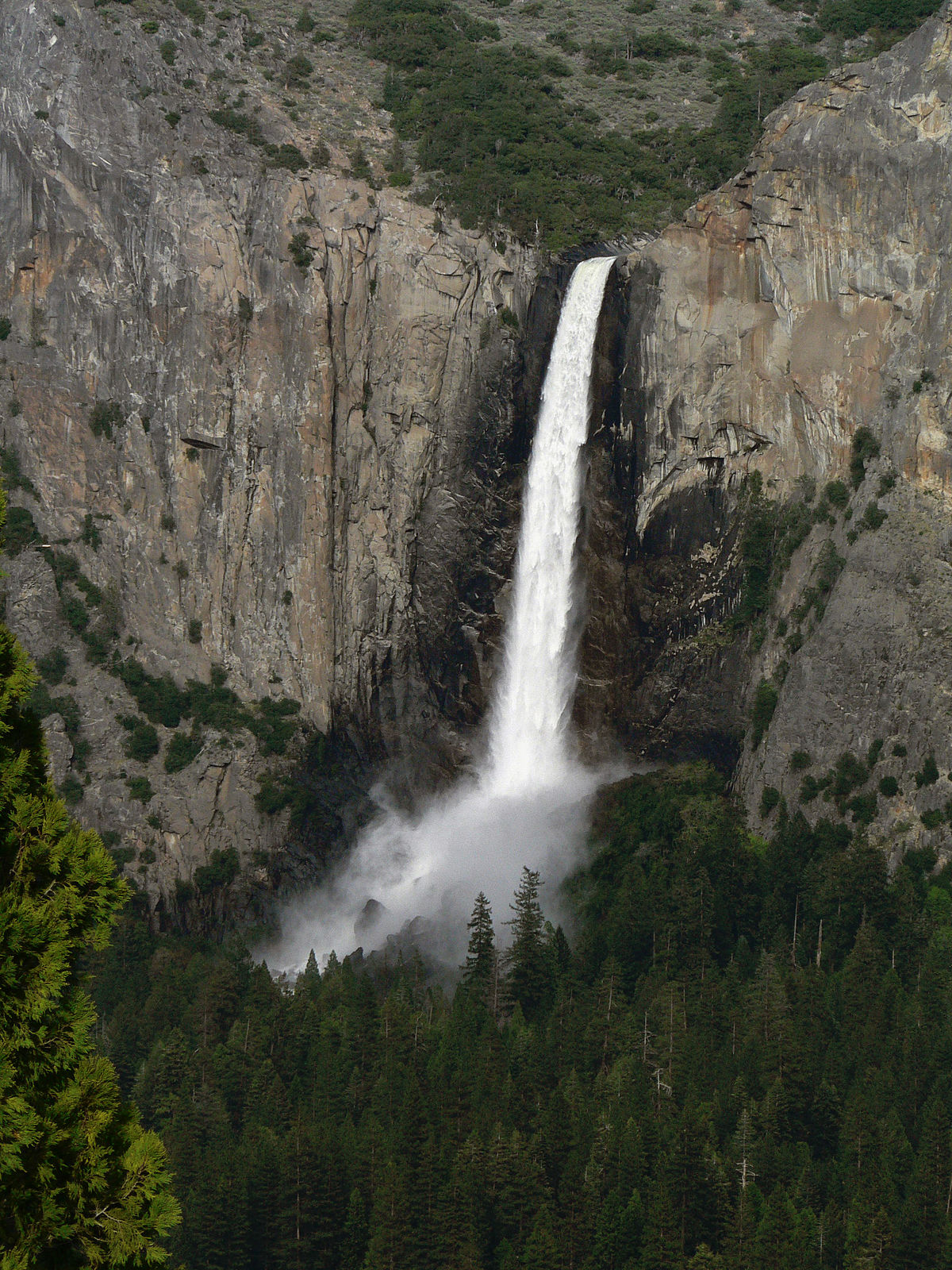 list of waterfalls in yosemite national park wikipedia