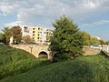 Bridge over Gombás-brook (W). - Vác.JPG