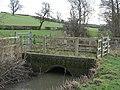 Bridge over the Tad Brook - geograph.org.uk - 1136599.jpg