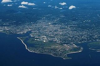 Geography of Bridgeport, Connecticut