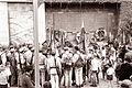 Brigada Miloša Zidanška se je vrnila s popotovanja po poteh partizanskega Pohorja v Maribor 1961 (5).jpg