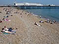 Brighton Beach and Pier on Early June Saturday - geograph.org.uk - 289063.jpg