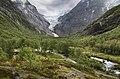 Briksdalen and Briksdalsbreen, Sogn og Fjordane, Norway, 2013 June.jpg