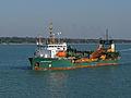 Britannia Aggregates Britannia Beaver in the Solent.jpg