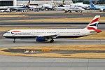 British Airways, G-MEDL, Airbus A321-231 (42595959850).jpg