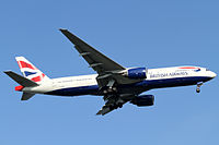G-YMMJ - B772 - British Airways