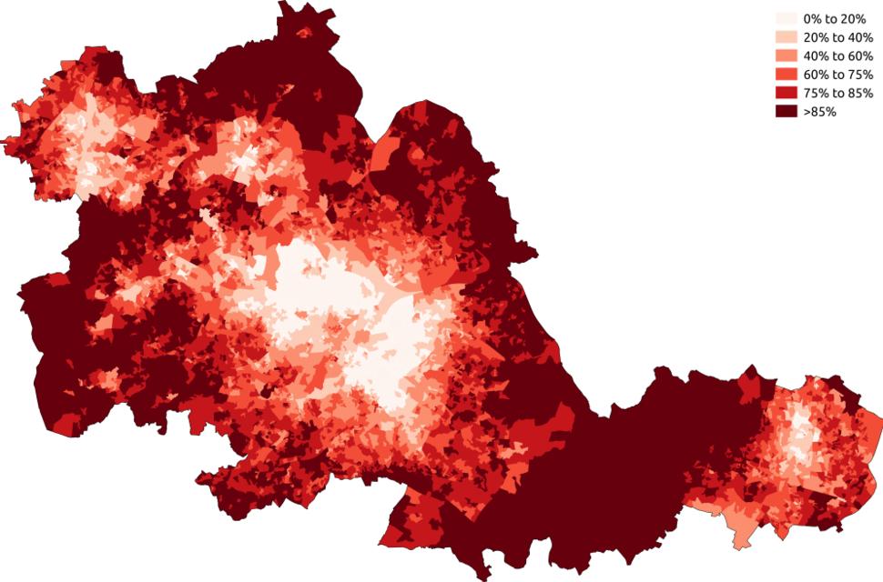 British West Midlands 2011 census