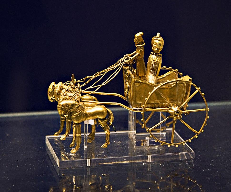 Britishmuseumoxustreasuregoldchariotmodel