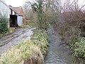 Brook at East Wall - geograph.org.uk - 628882.jpg