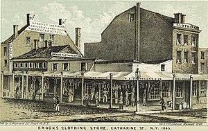 Cherry Street (Manhattan) - Cherry and Catherine Streets, 1848
