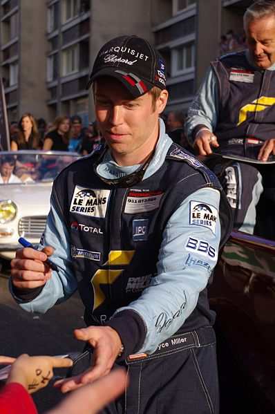 Bryce Miller at the Le Mans 24 Hours 2011 Drivers' Parade