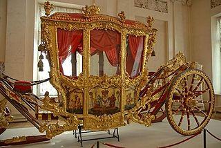 Coach (carriage) four wheeled carriage