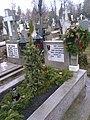 Bucuresti, Romania. Cimitirul Bellu Catolic. Mormantul Compozitorului Dan Iagnov. 12 Dec. 2018.jpg