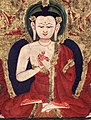 Buddha Vairocana from 14th century Tibet (cropped).jpg