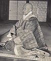 Buddhist Priest of Japan (1914 by Elstner Hilton) (cropped).jpg