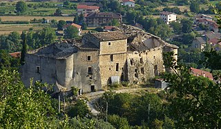 Bugnara Castle after quake.jpg