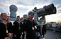 Bulgarian naval cadets look through binoculars during a tour of the command ship USS Mount Whitney (LCC 20) during a port visit to Burgas, Bulgaria, Nov. 5, 2013 131105-N-PE825-136.jpg