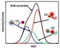 Bulk vs single-molecule FRET.png