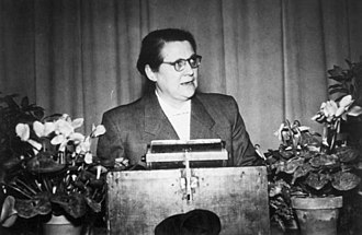 All-German People's Party - Helene Wessel on the GVP founding convention 1952