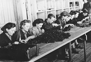 <i>Arbeitseinsatz</i> forced labour category of internment within Nazi Germany during World War II