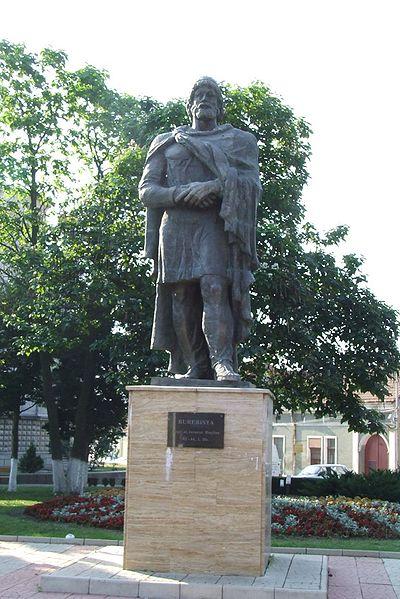 paminklas Burevistai Rumunijoj