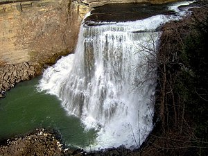 Burgess Falls State Park - Burgess Falls