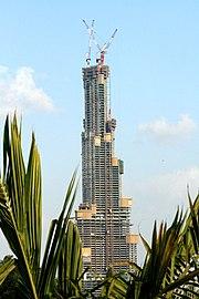 ساختمان سازی در برج دبی