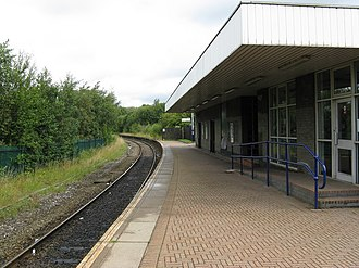 Burnley Central railway station - Image: Burnley Central station geograph.org.uk 1471272