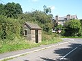 Bus shelter at Hope Bowdler - geograph.org.uk - 1446065.jpg