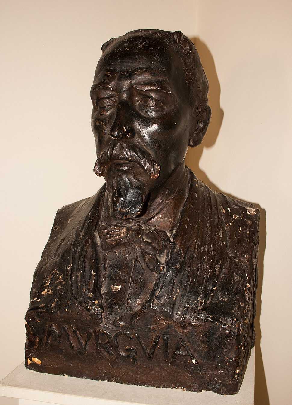 Bust of Manuel Murguía