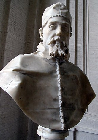 Pope Urban VIII - Bust of Urban VIII, Gianlorenzo Bernini, 1637–8