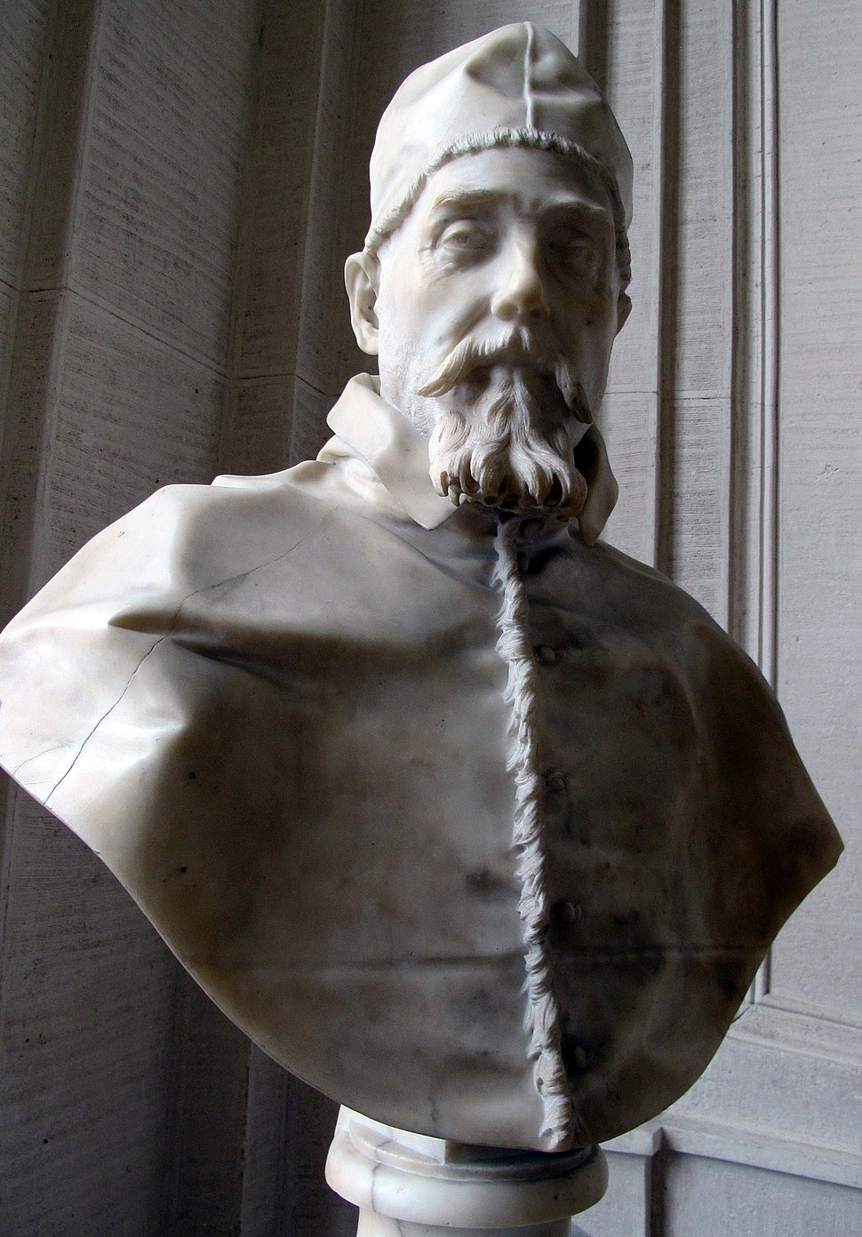 Bust of Pope Urban VIII by Bernini