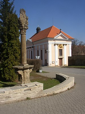 Buštěhrad - Church of Exaltation of the Holy Cross.
