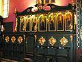 Bydgoska katedra-rokokowe stalle w prezbiterium.JPG