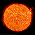 C3-class Solar Flare Erupts on Sept. 8, 2010 -Full Disk- (4975115754).jpg