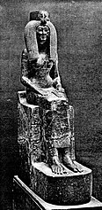 Statua di Iside, madre di Thutmose III