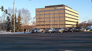 CH2M Hill - The former VECO building, now CH2M Hill's Alaska headquarters