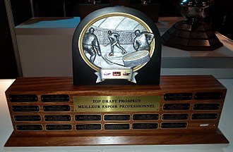 CHL Top Draft Prospect Award - Image: CHL Top Draft Prospect 2015