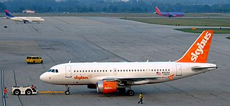 John Glenn Columbus International Airport - Skybus had its hub at Port Columbus.