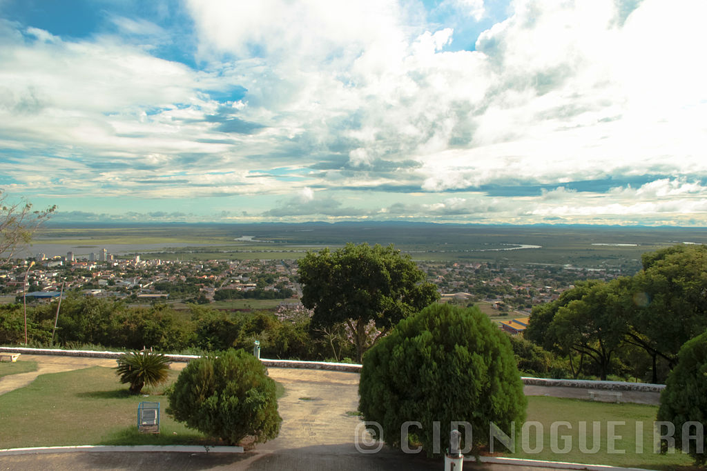 Corumbá vista a partir do Morro do Cruzeiro