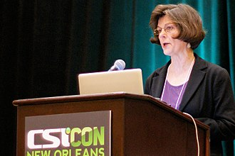 "Committee for Skeptical Inquiry - Barbara Forrest participating in the ""Creation and Evolution"" panel at CSICon 2011 in New Orleans."