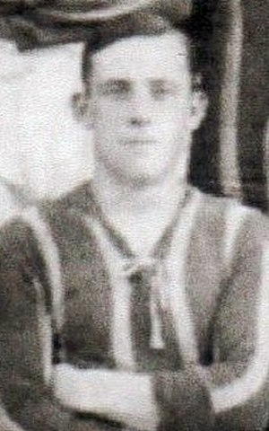 Charles Allwright - Allwright while with Brentford in 1912.