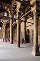 Cairo, cittadella, moschea di an-nasr mohammed, 1318-1335, cortile 06.JPG